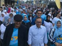 Ribuan Peserta Hadiri Gerak Jalan Sehat Global Islamic School