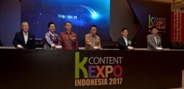 K-Content Expo 2017 Hari Pertama Dibanjiri Pengunjung