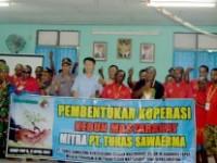 Koperasi Kebun Masyarakat Dan PT.Tunas Sawa Erma Bekerjasama Untuk Kembangkan Perekonomian Masyarakat Papua