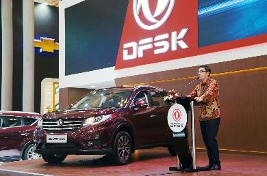 GIIAS International Auto Show 2018, DFSK Luncurkan Glory 580