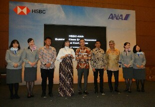 HSBC-ANA Gelar Travel Fair dan Pameran Fasilitas Kelas Bisnis