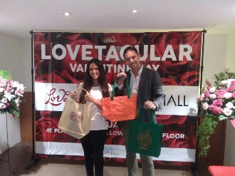 LOVETACULAR Gerakan LOVE & 02 Sebarkan Pesan Cinta Bumi di Hari Kasih Sayang