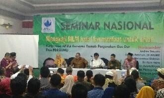 AP2LI-Pergunu Adakan Seminar Ekonomi MLM