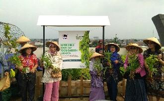 Gaya Hidup Sehat, Super Indo Ajak Masyarakat Untuk Berkebun