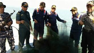 Pengawas Perikanan Tertibkan Alat Tangkap Benih Lobster