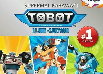 Supermal Karawaci Hadirkan Liburan Bersama Tobot