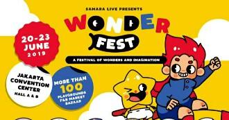 WONDERFEST Hadirkan Festival Bangkitkan Imajinasi Anak Bermain