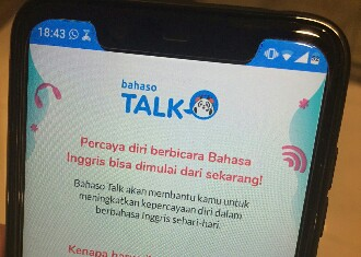 Aplikasi BAHASO Solusi Lancar Berbahasa Inggris