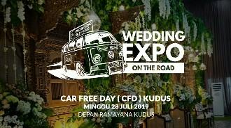 KAVESA Gandeng Idaz Dekorasi Gelar Wedding Expo Kilat di Area Car Free Day