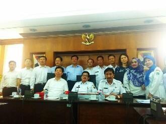 Delegasi Zhuzhou-China Apresiasi Pengembangan Bank Sampah Pemprov DKI Jakarta