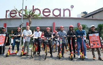 Gowes Perkenalkan Layanan Ride Sharing E-Bike dan E-Scooter di Kawasan Alam Sutera