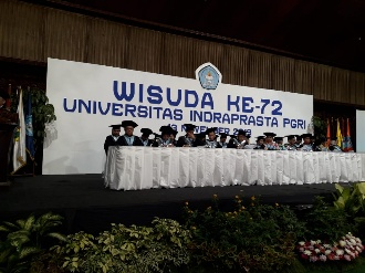 Rektor Unindra: Wisudawan Harus Siap Hadapi Revolusi Industri