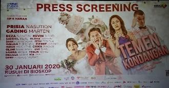 Film 'Temen Kondangan' Targetkan Raih Banyak Penonton