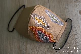 Dampak Covid-19, Desainer Riri Rengganis Rambah Masker Premium